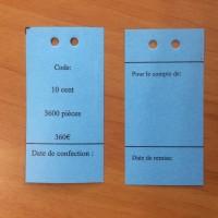 Kit Etiquettes - Pièces de 10 cent (500 + 500)