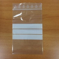 Pochettes Eurogrip en 90 my avec 3 bandes blanches